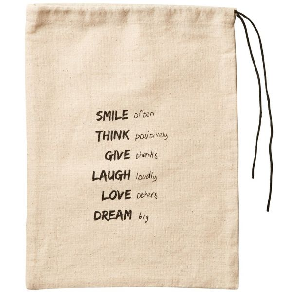Pochette Réutilisable 100% Coton - Smile & Dream