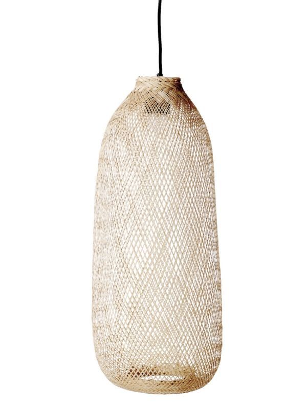 Suspension Bambou Naturel - 65 cm