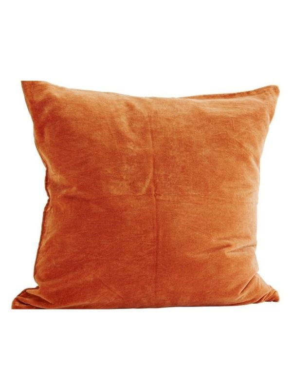 coussin-velours-terracotta-decoration-vintage