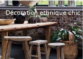 decoration ethnique chic